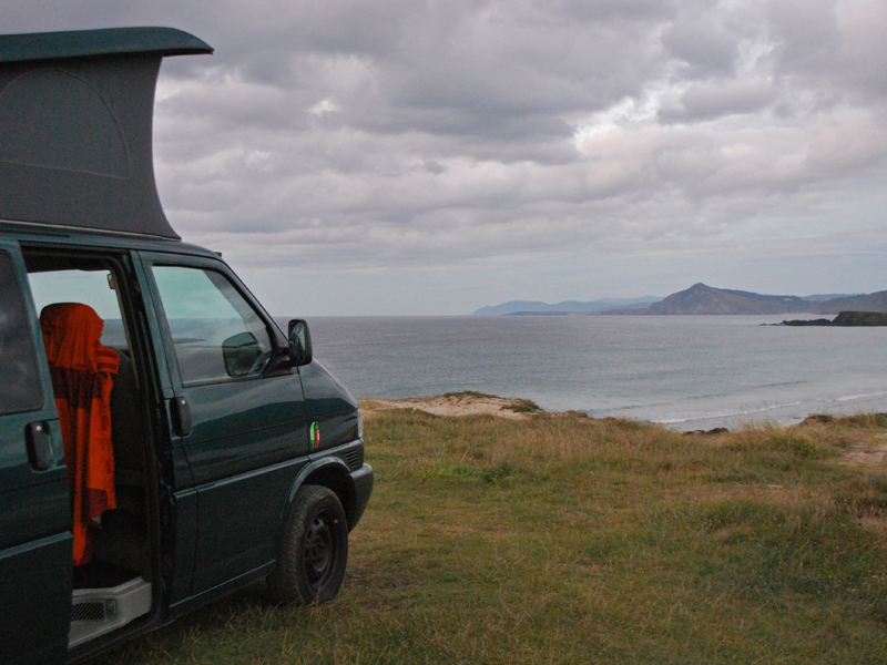 Around Galicia and Asturias with Chilicampers